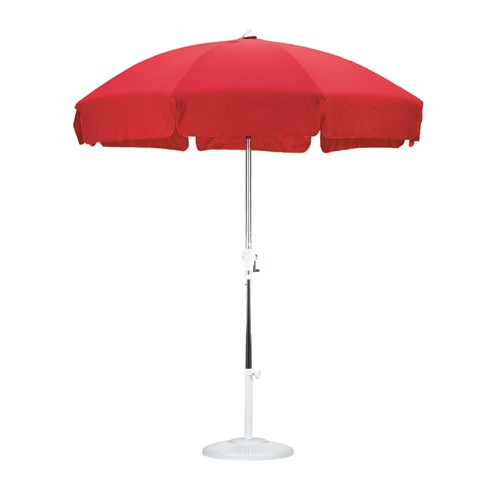 garden umbrella 7 1/2 traditional garden patio umbrella URLJSFY