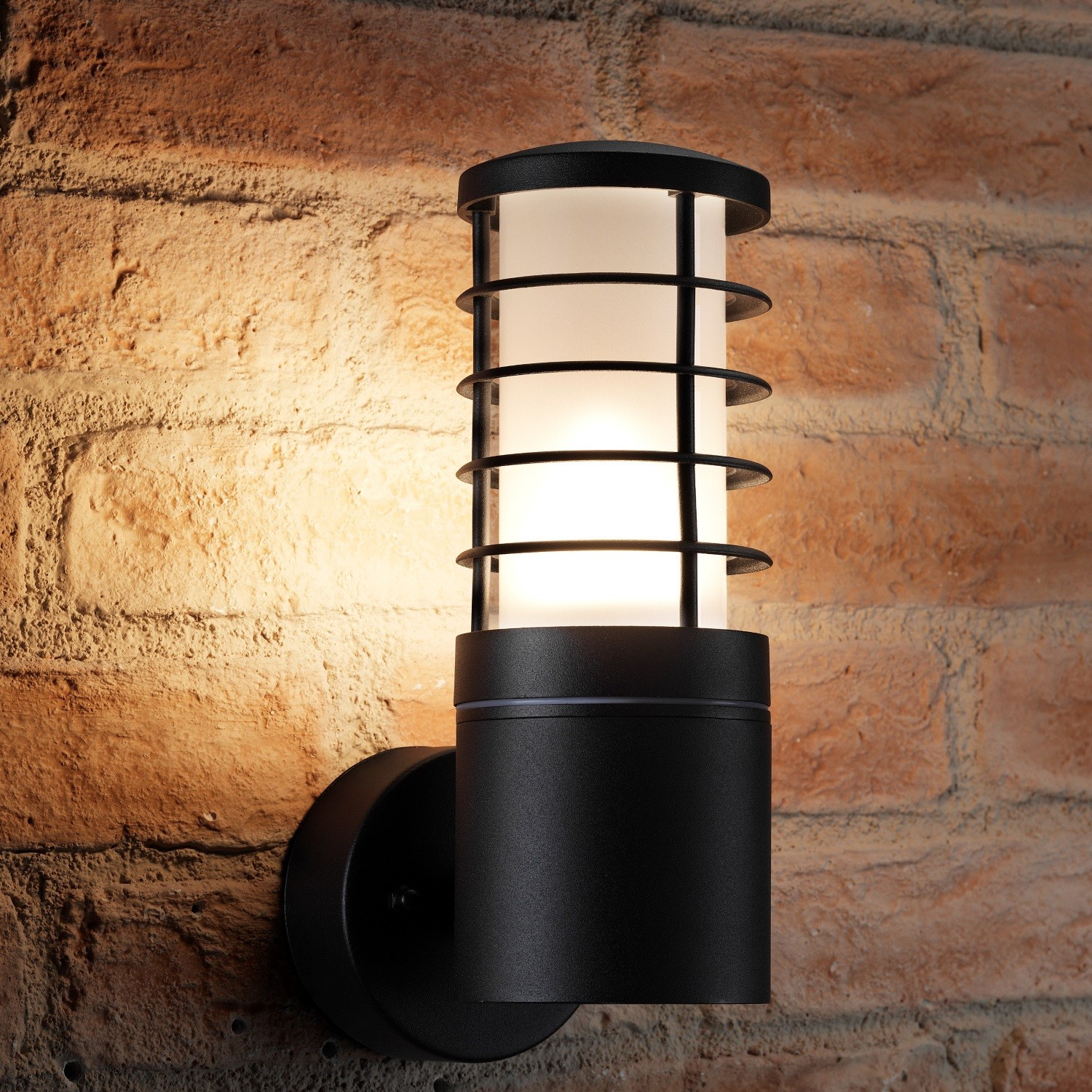 garden wall lights auraglow 5w outdoor garden wall light - hartwell YXJDQUS