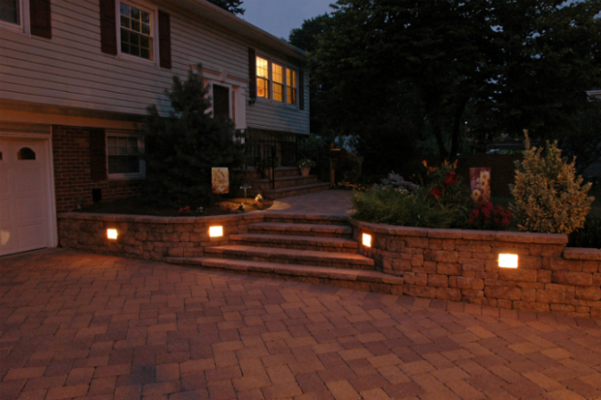 garden wall lights garden wall u0026 retaining wall lights PMXRDOK