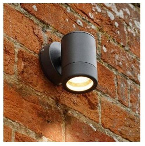 garden wall lights outdoor contemporary black powder coated exterior garden wall light with  lamp VCTZUCY