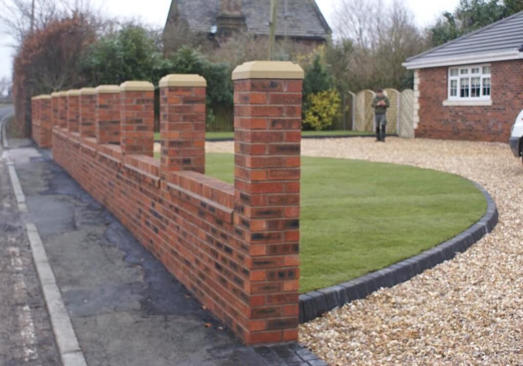 garden walls brickwork | abel landscaping IPSYIBT