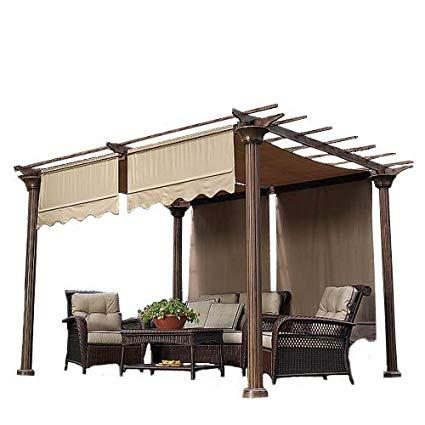 garden winds universal replacement pergola canopy ii - beige AAYLQYD