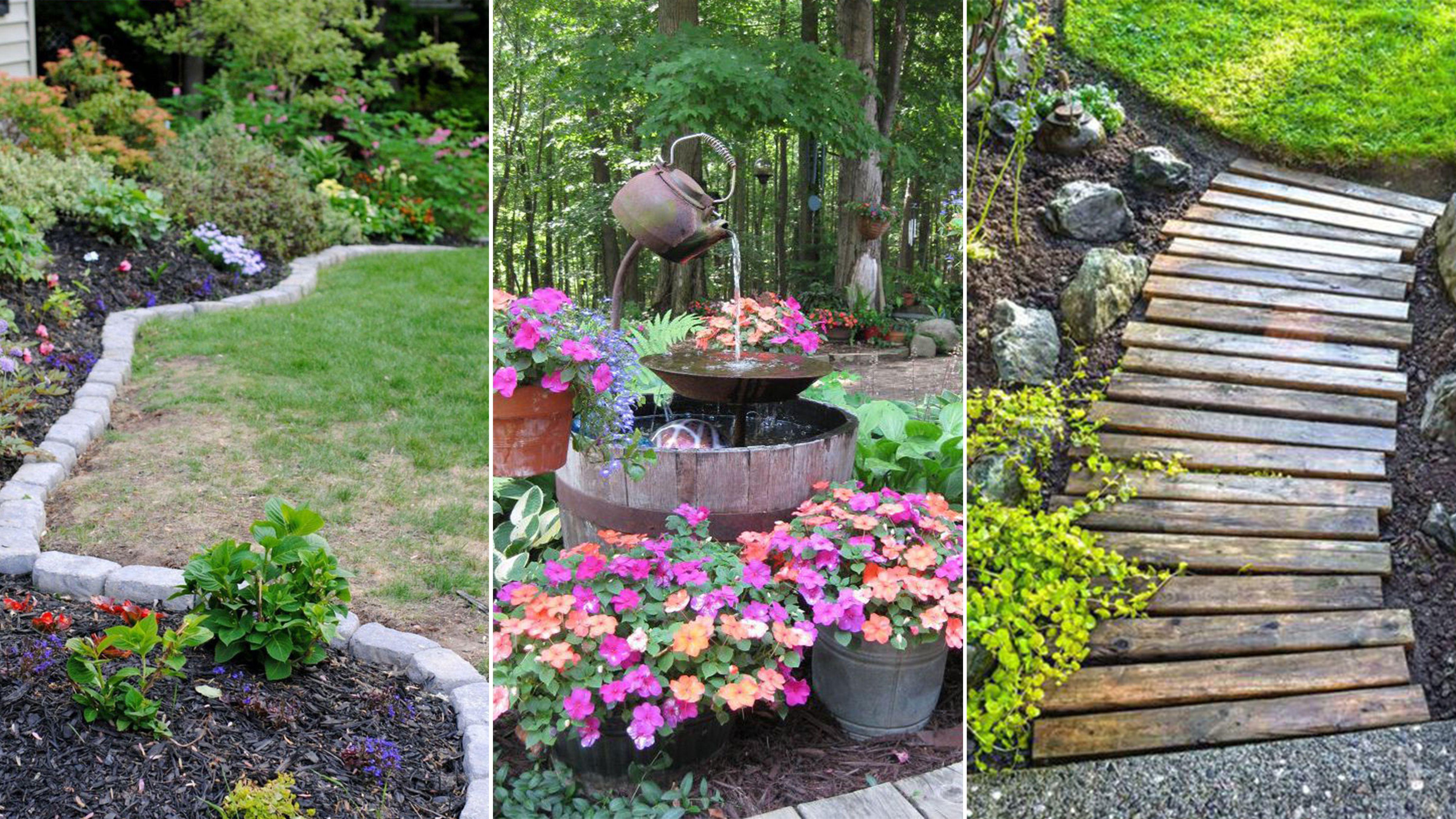gardening ideas 14 cheap landscaping ideas - budget-friendly landscape tips for front yard TERUJID