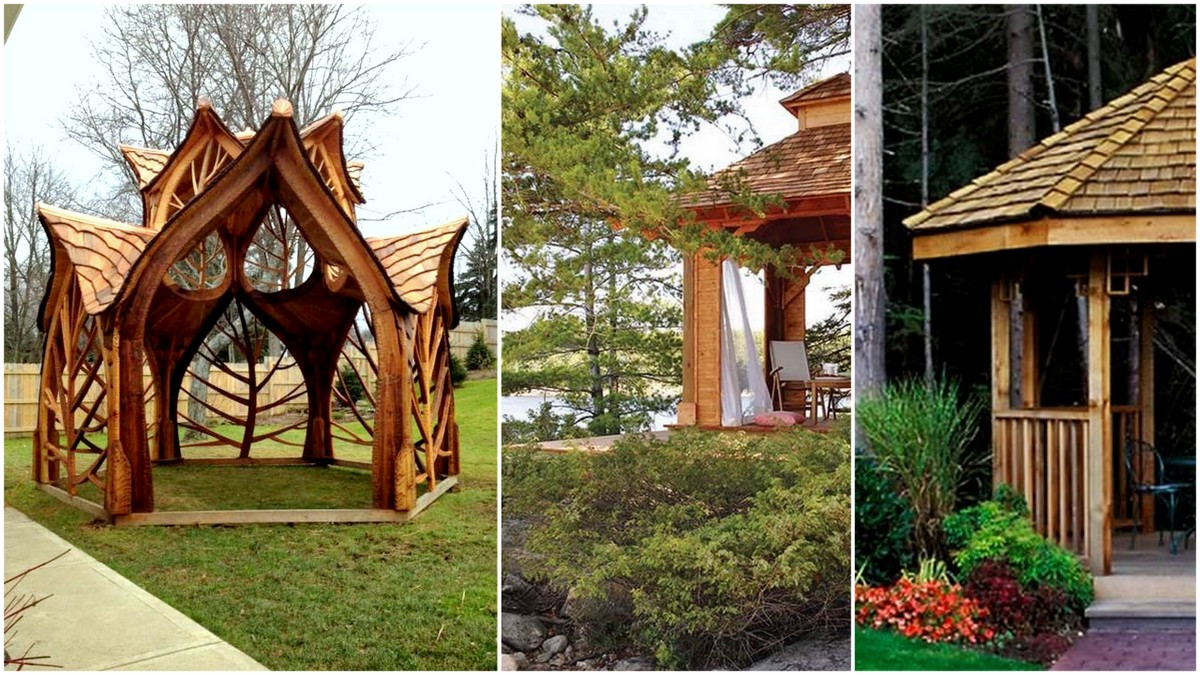 gazebo designs 27 cool and free diy gazebo plans u0026 design ideas to build GSZGXEH