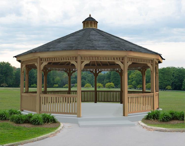 gazebo designs dodecagon gazebos have twelve sides and are ideal for building enormous XLARQFV