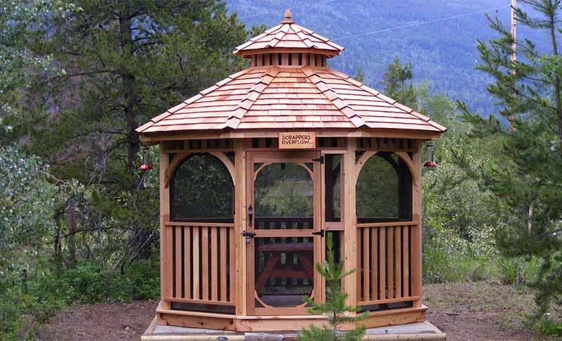 gazebo designs for backyards TRSCQZZ