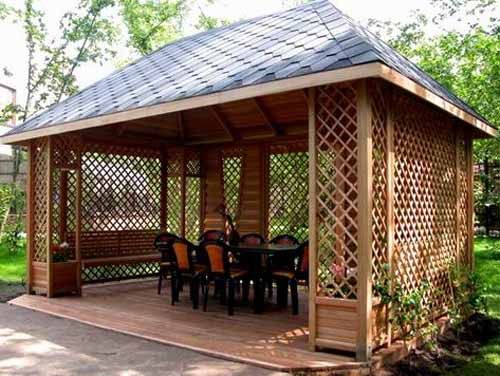 gazebo designs how to match the style of your home with your landscape design STJQCOM
