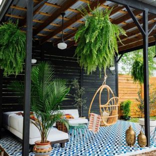 gazebo ideas example of an eclectic tile patio design in atlanta with a gazebo WIENKSH