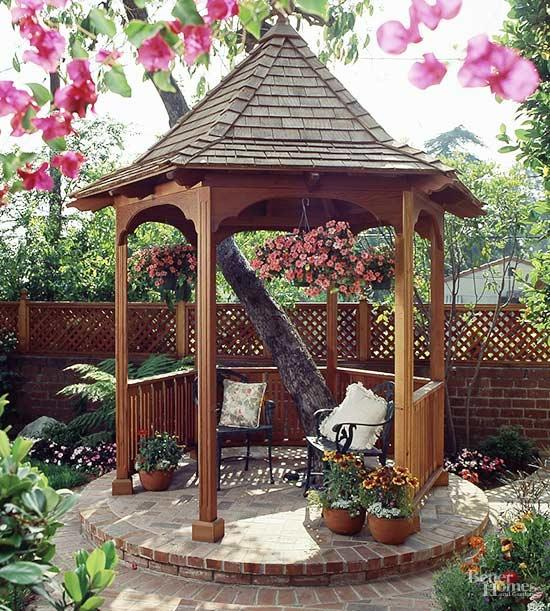 gazebo ideas extend your enjoyment of the great outdoors with these gazebo design ideas UYCJCBK