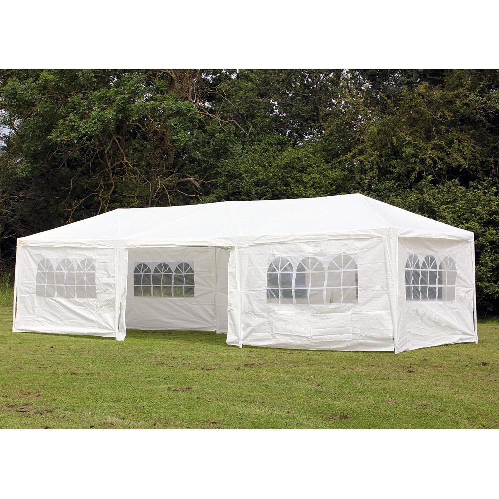 gazebo tent palm springs 10u0027 x 30u0027 party tent wedding canopy gazebo pavilion w/side MAQOIBH