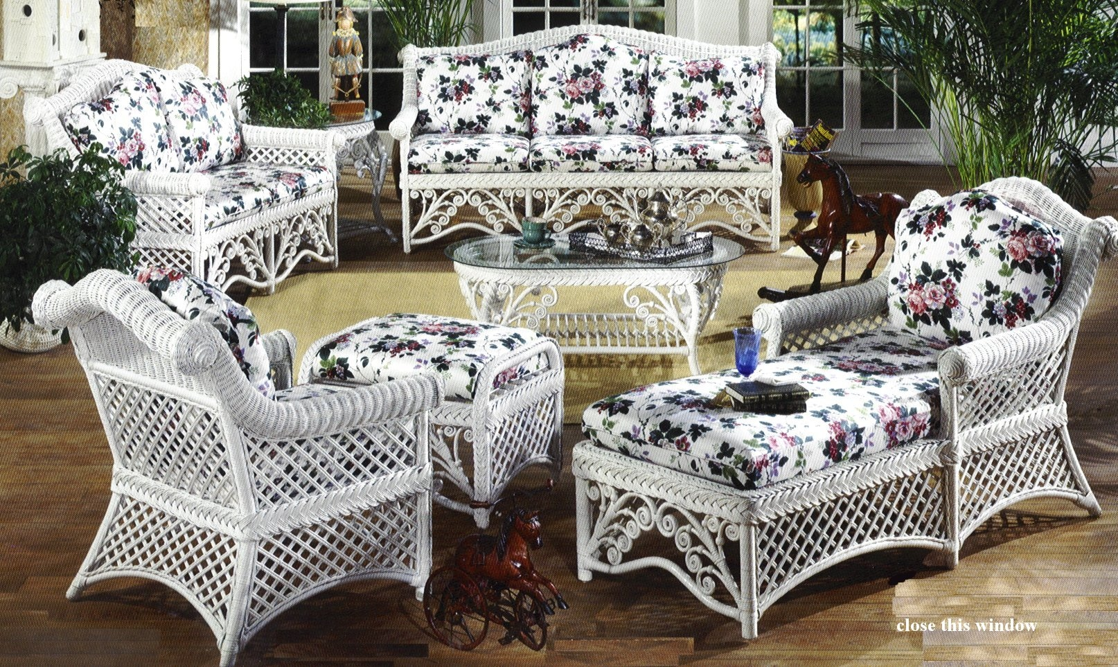 gazebo victorian wicker furniture YCIBRRU