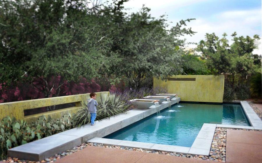 Types of pool design