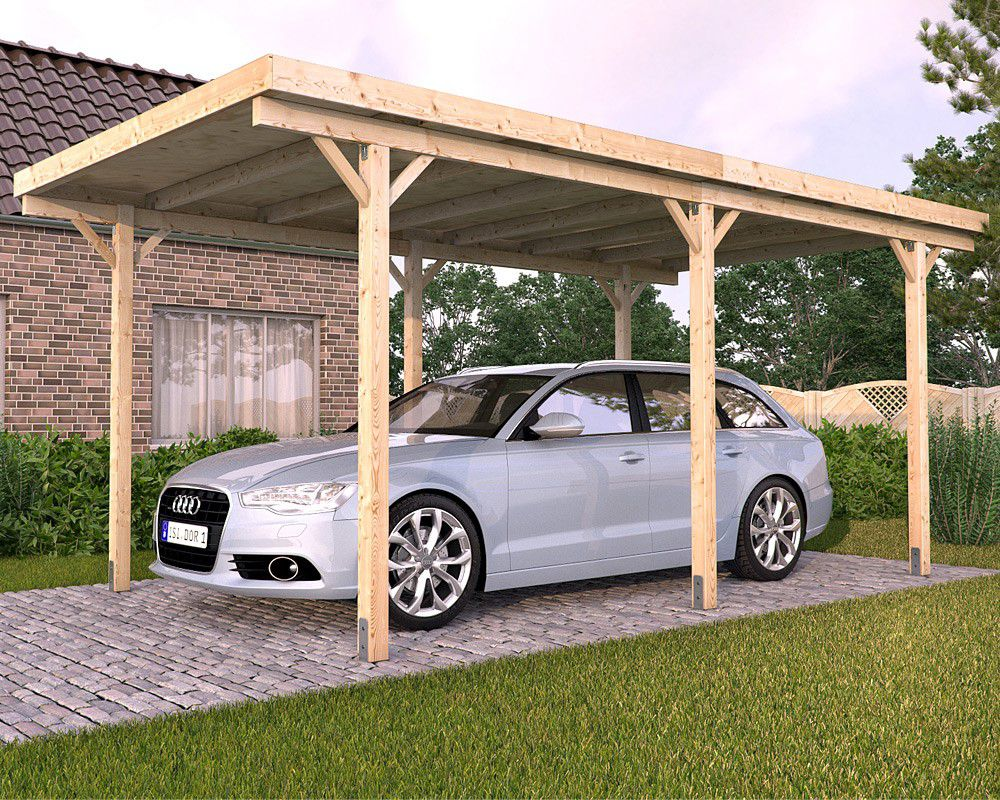 get to know all about wooden carports before