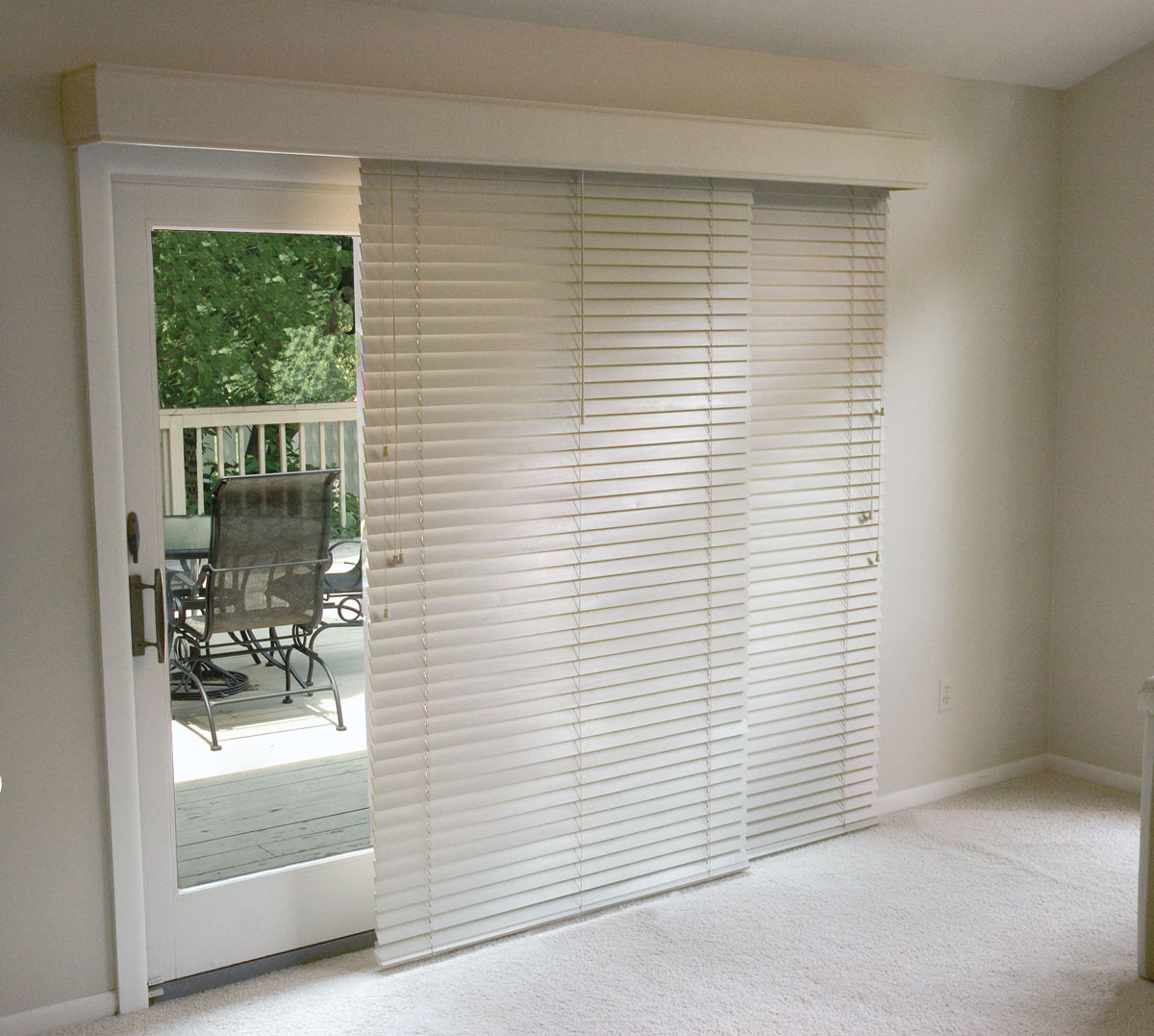 glider blinds horizontal blinds for patio doors SBFQWPZ