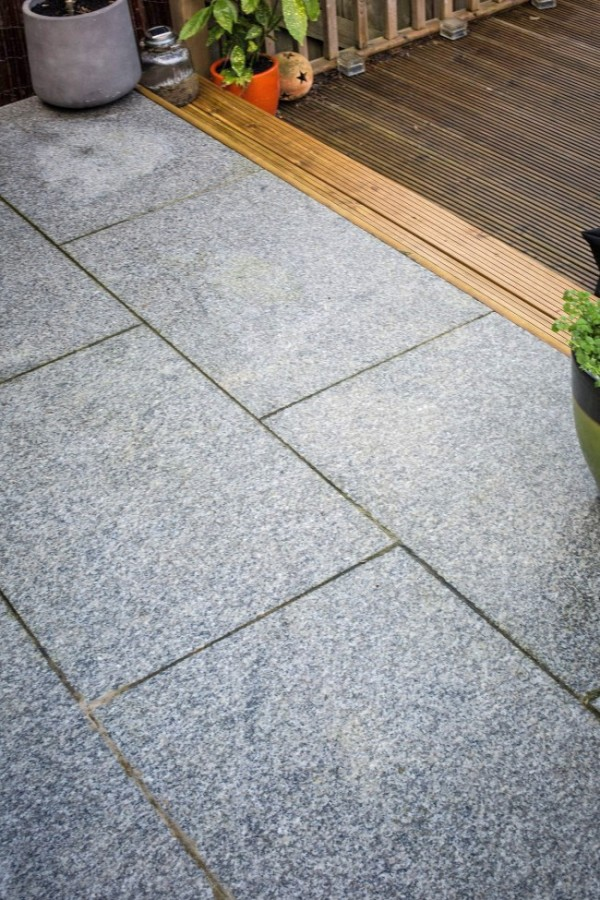 granite pavers silver grey paving slabs for use on a patio MISRPWR
