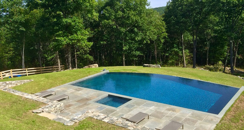 gunite pool dobson pools, llc - custom gunite pools - located in northwestern MTUDLPR