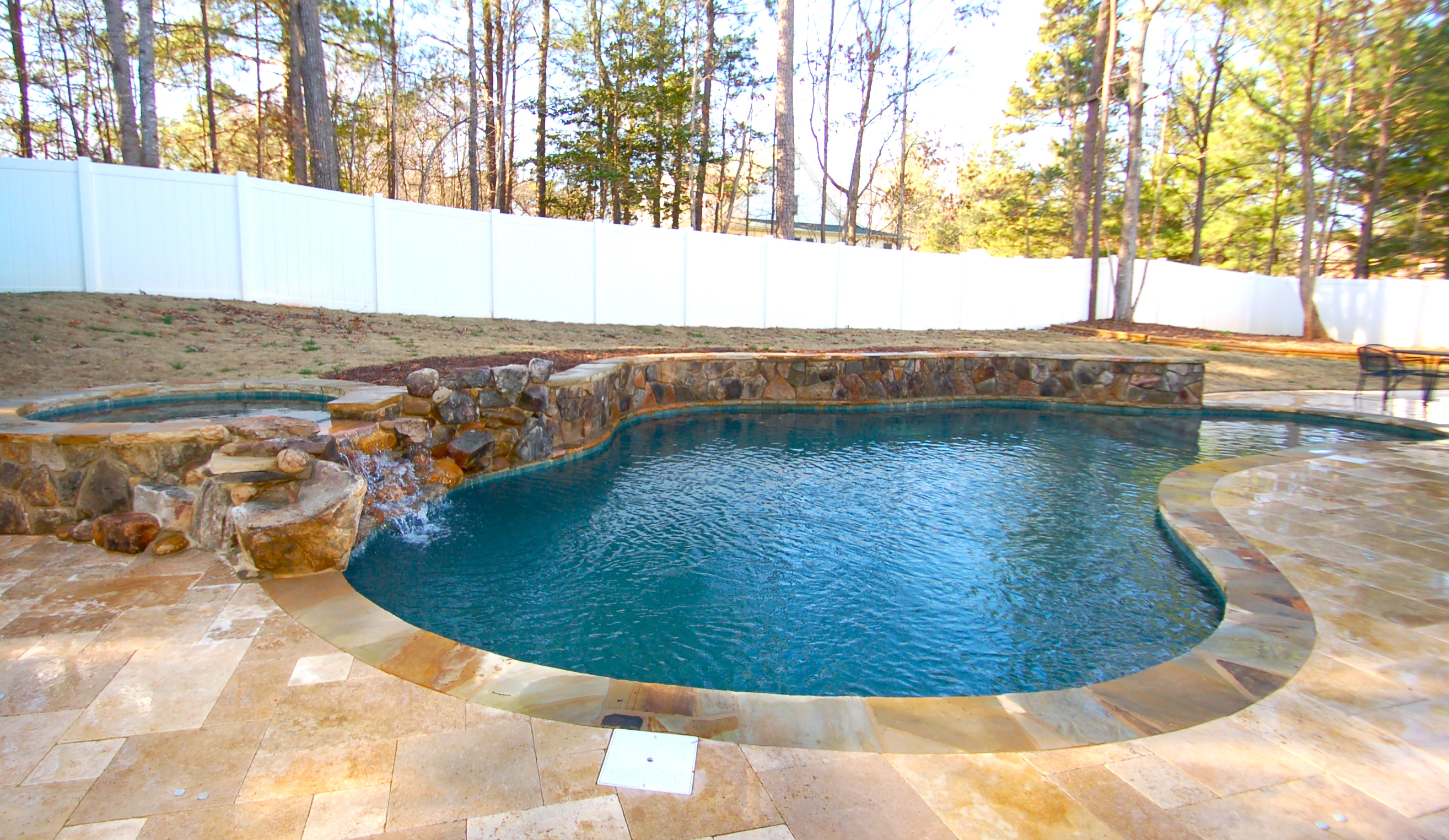 gunite pool the ... VRRBVVW