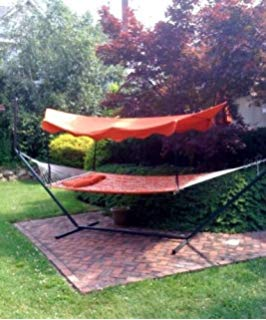 hammock with canopy bliss hammocks ha-509tc steel canopy YKTEIUZ
