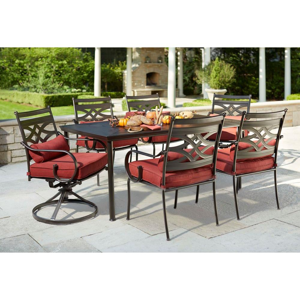 hampton bay patio set deal image XWMNHBI