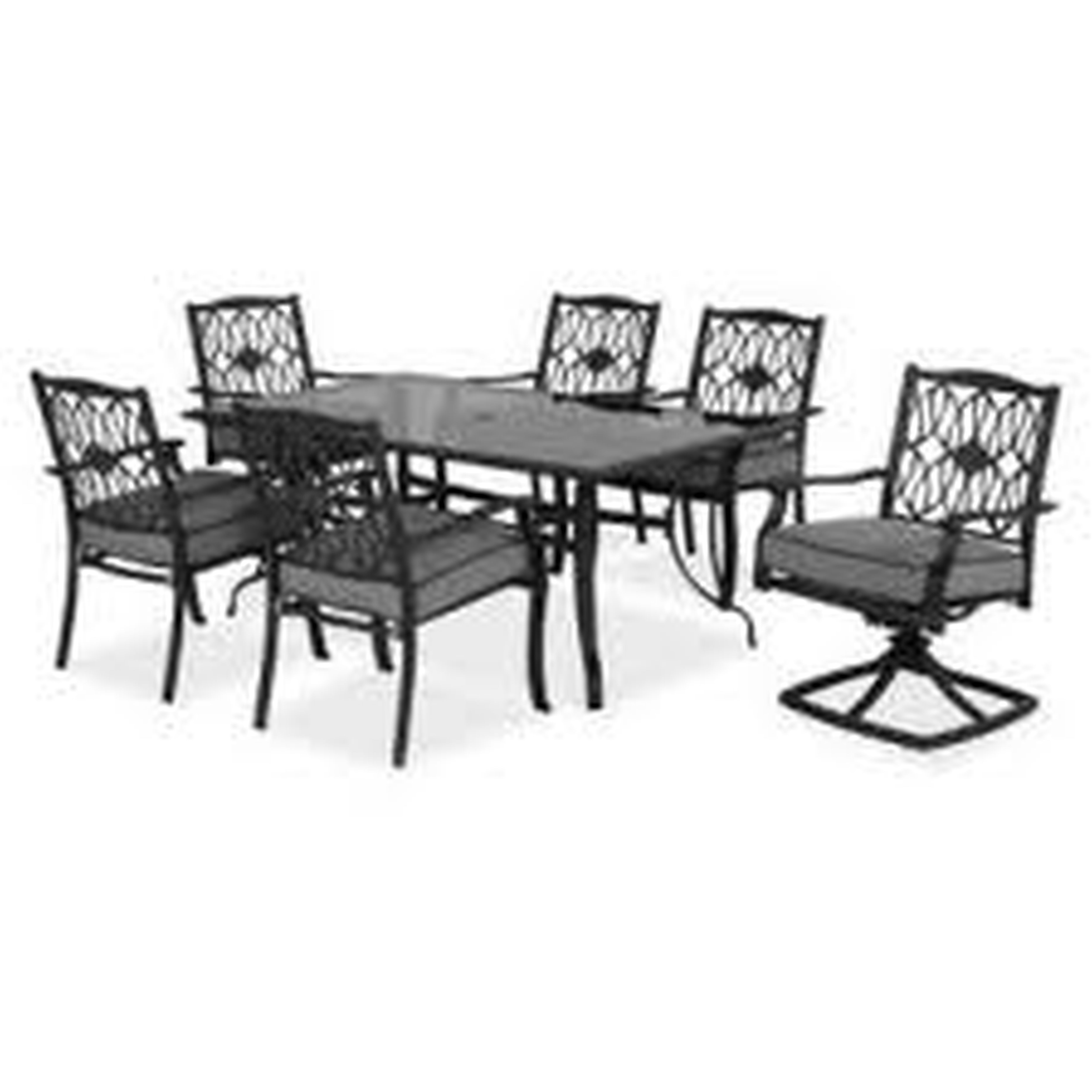 hampton bay patio set hampton bay patio chairs furniture astonishing concrete with dark LKSJNAL