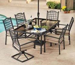 hampton bay - sydney - hampton bay patio set BGIZMXN