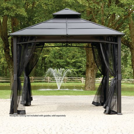 hard top gazebo hometrends hard top square gazebo EWEWPBR