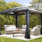 Hard top gazebo now forget about stress