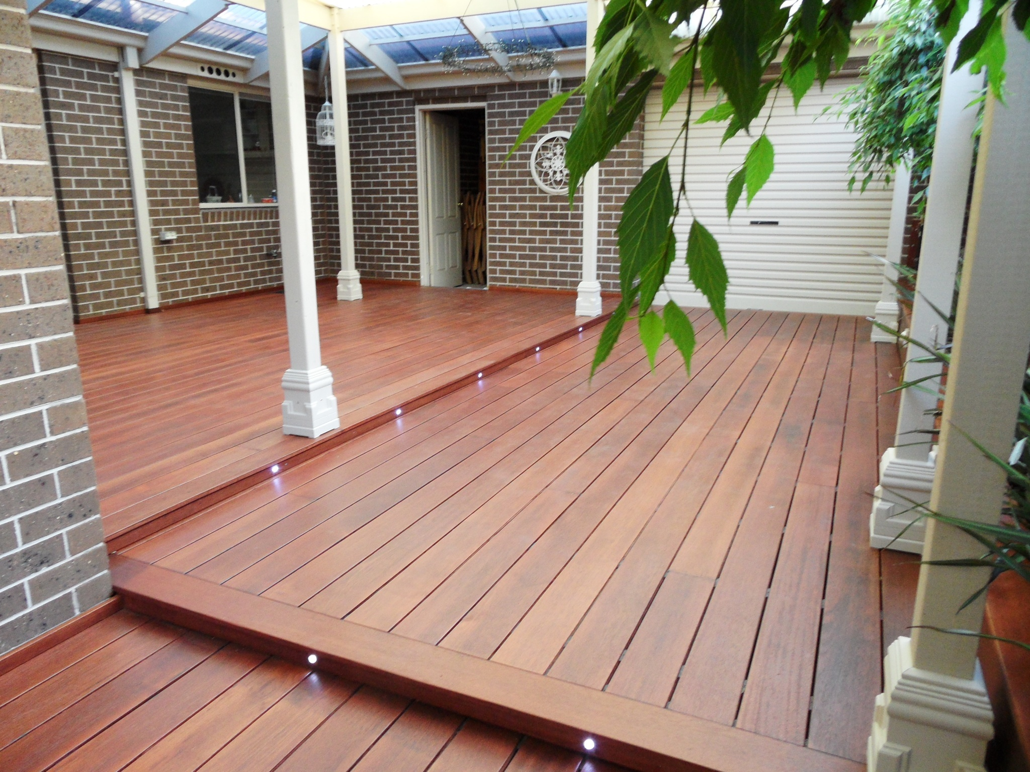 hardwood decking decking built with timber from sydney supplier DBTCYGL