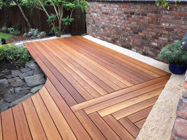 hardwood decking pacific mahogany 90×19 hardwood decking timber ebay UHEFDQI