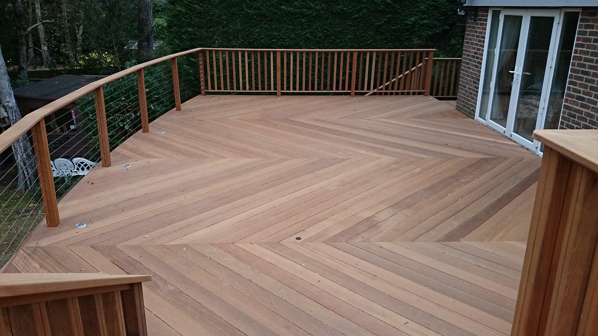 hardwood decking yellow balau 21 x 145mm smooth 2 sides - southgate timber | SRRUXER