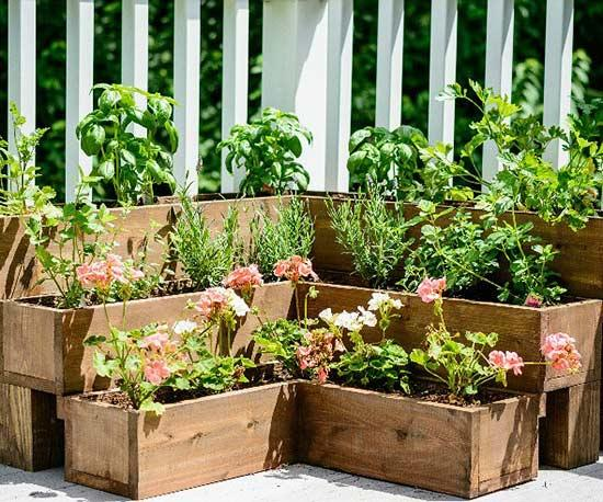 herb gardens tiered outdoor herb garden- one time use only blogger image GXYPAEO