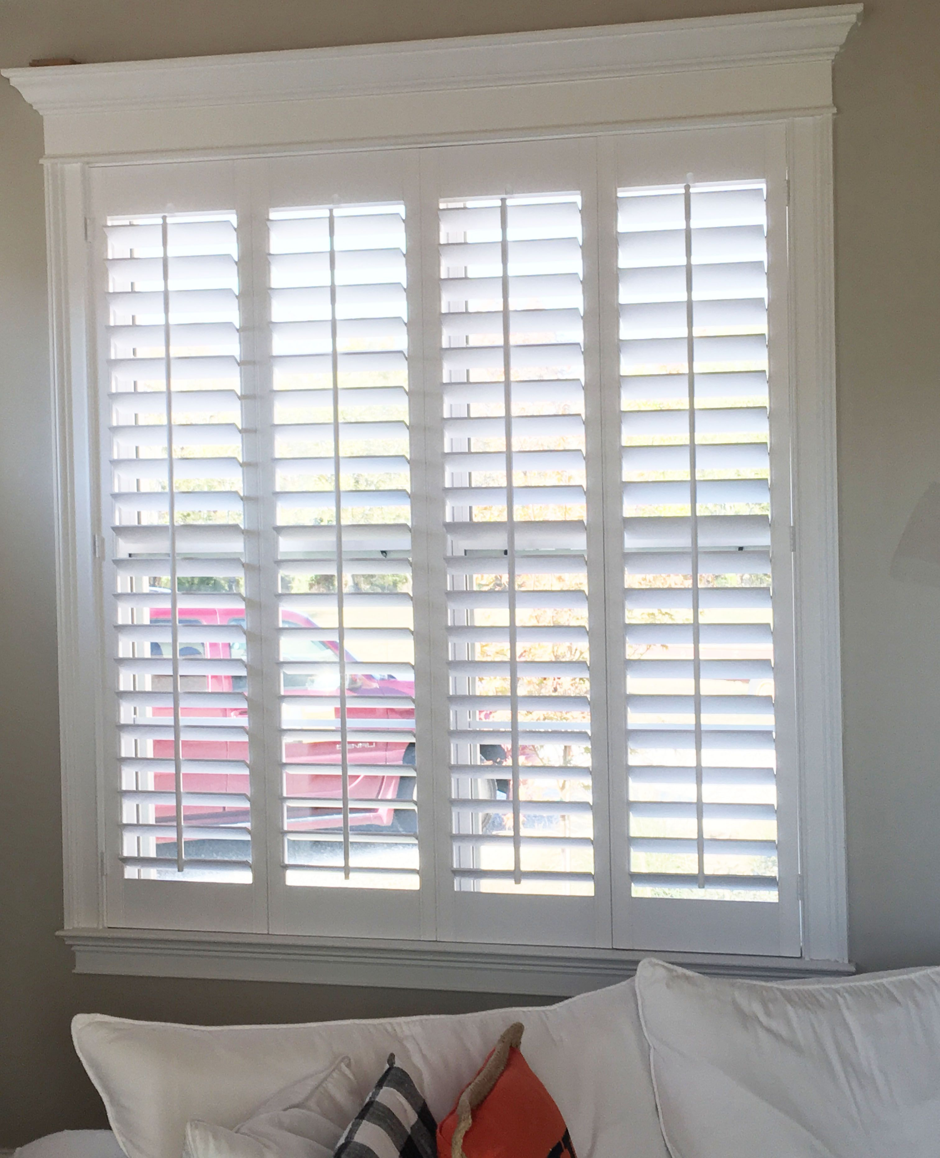 home and furniture: luxurious indoor shutters for windows in beautiful home QISSQWM