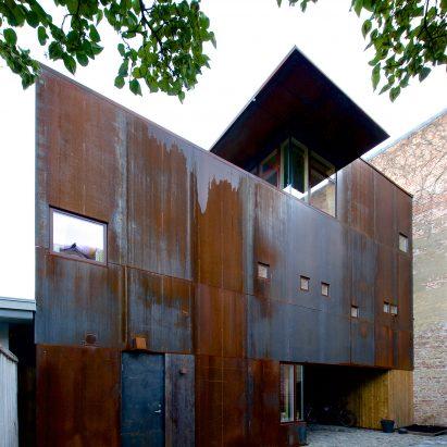 home architecture ... rust house by jarmund/vigsnæs architects OARLXLJ