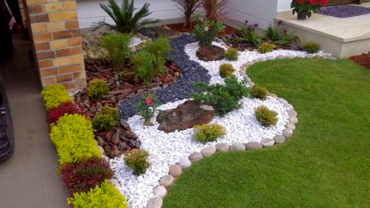 home garden ideas 40 small garden and flower design ideas 2017 - amazing small garden OYAUSKI