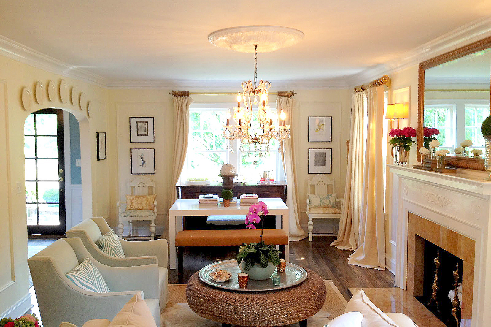 Online access of home remodeling ideas