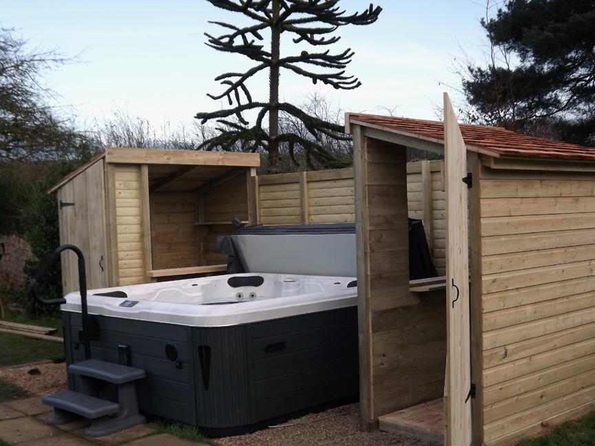 hot tub garden bar KLCAXKT