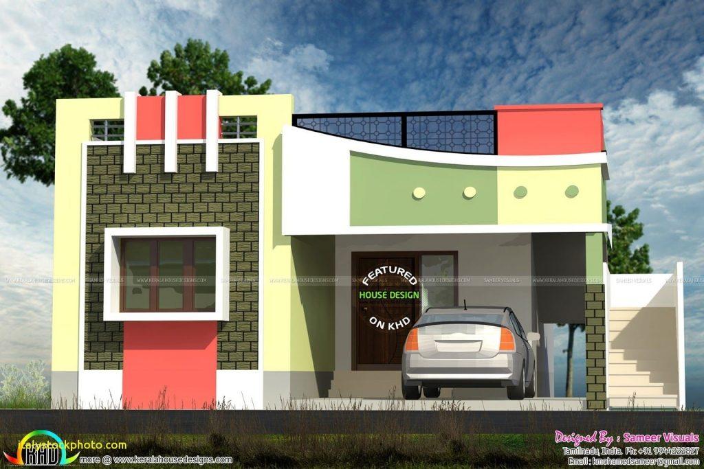 House Front Design Elevation Designs For Single Floor South Facing Etdocqe