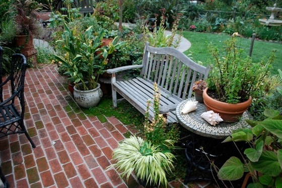 how to build a brick patio IEXVNES