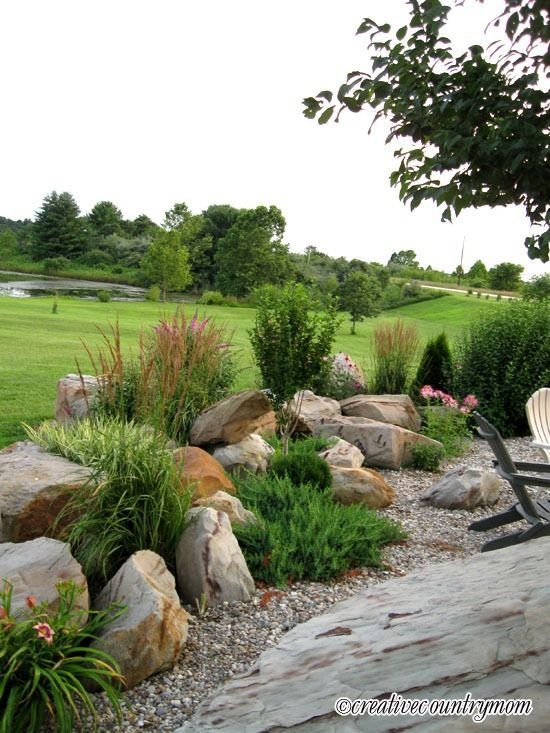how to: landscaping with rocks the design of a rock garden and QNZWPPW