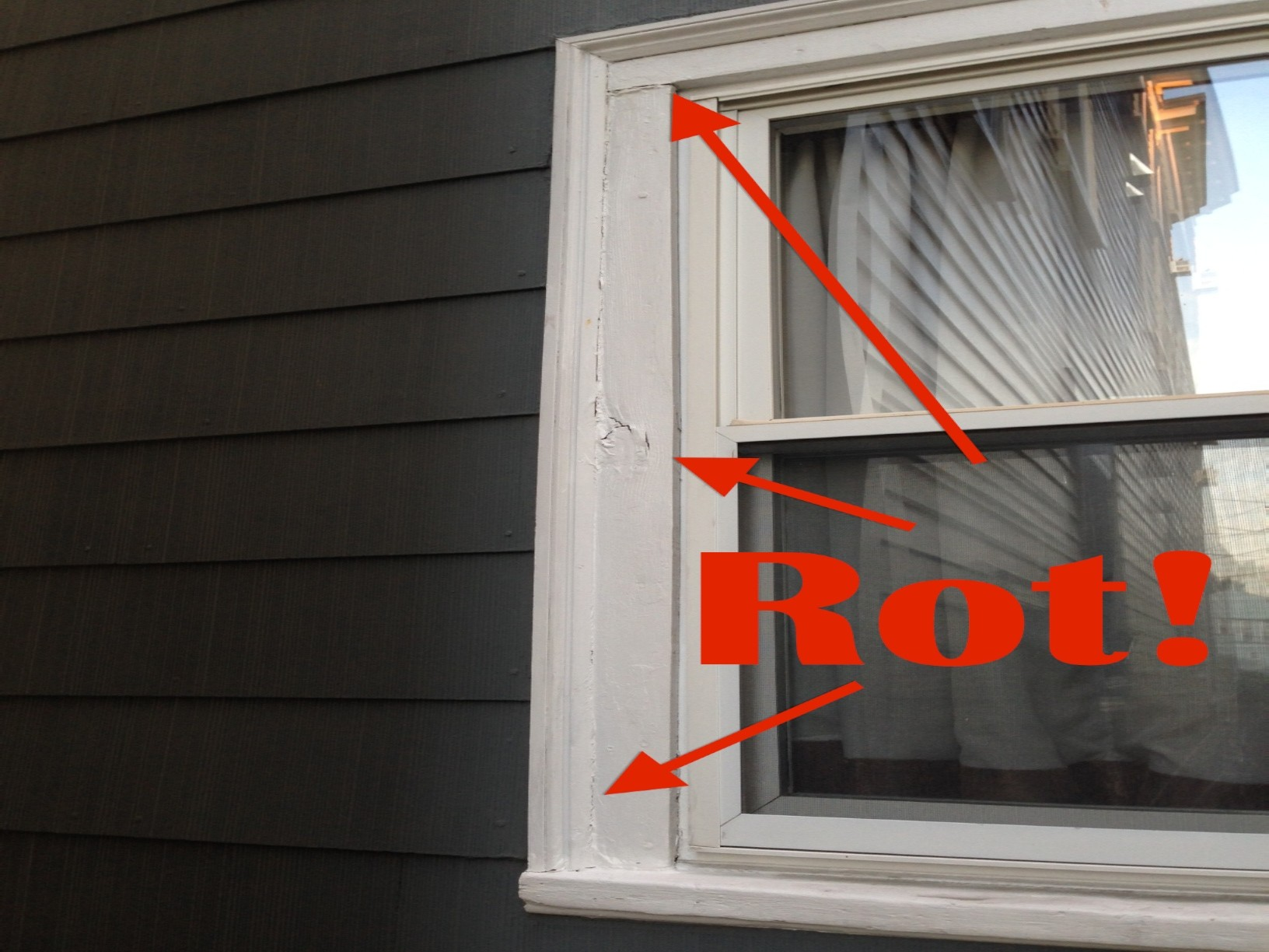 how to replace exterior window trim ACLVGRS