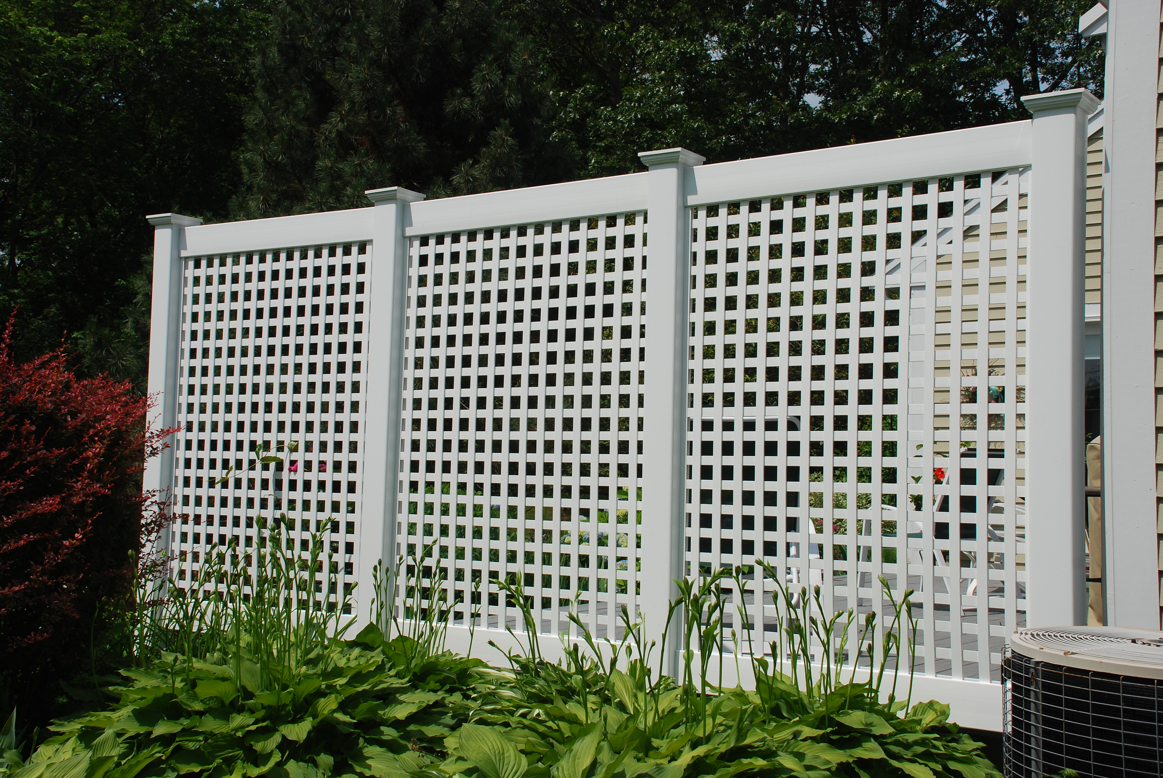 how to use permalatt lattice as privacy fencing RWTPABK