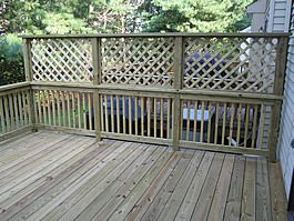 iu0027m looking for deck privacy screen options. this one is the most USTVAOM