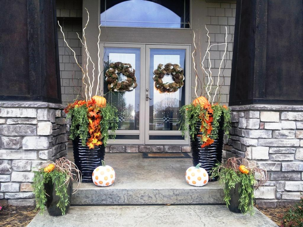 image of: fall front porch decor pinterest ZRZJPJA