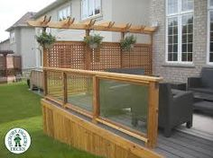 image result for deck privacy screen more OAGEPLI