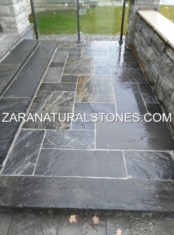 imperial black patio stones SQOZLVX