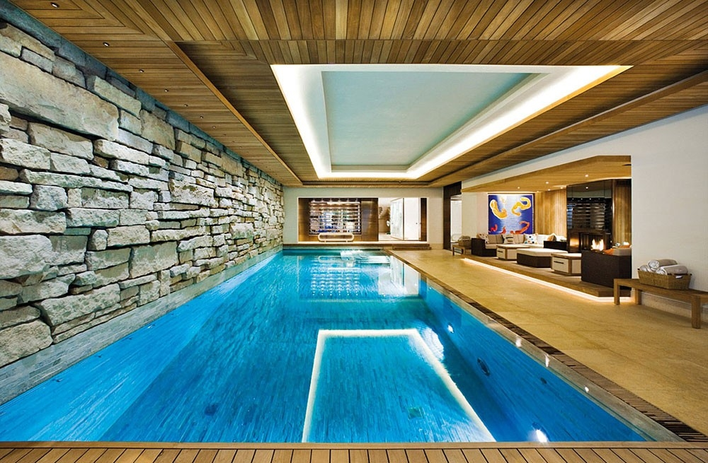 indoor swimming pools best 46 indoor swimming pool design ideas for your home with regard LZCCAGT