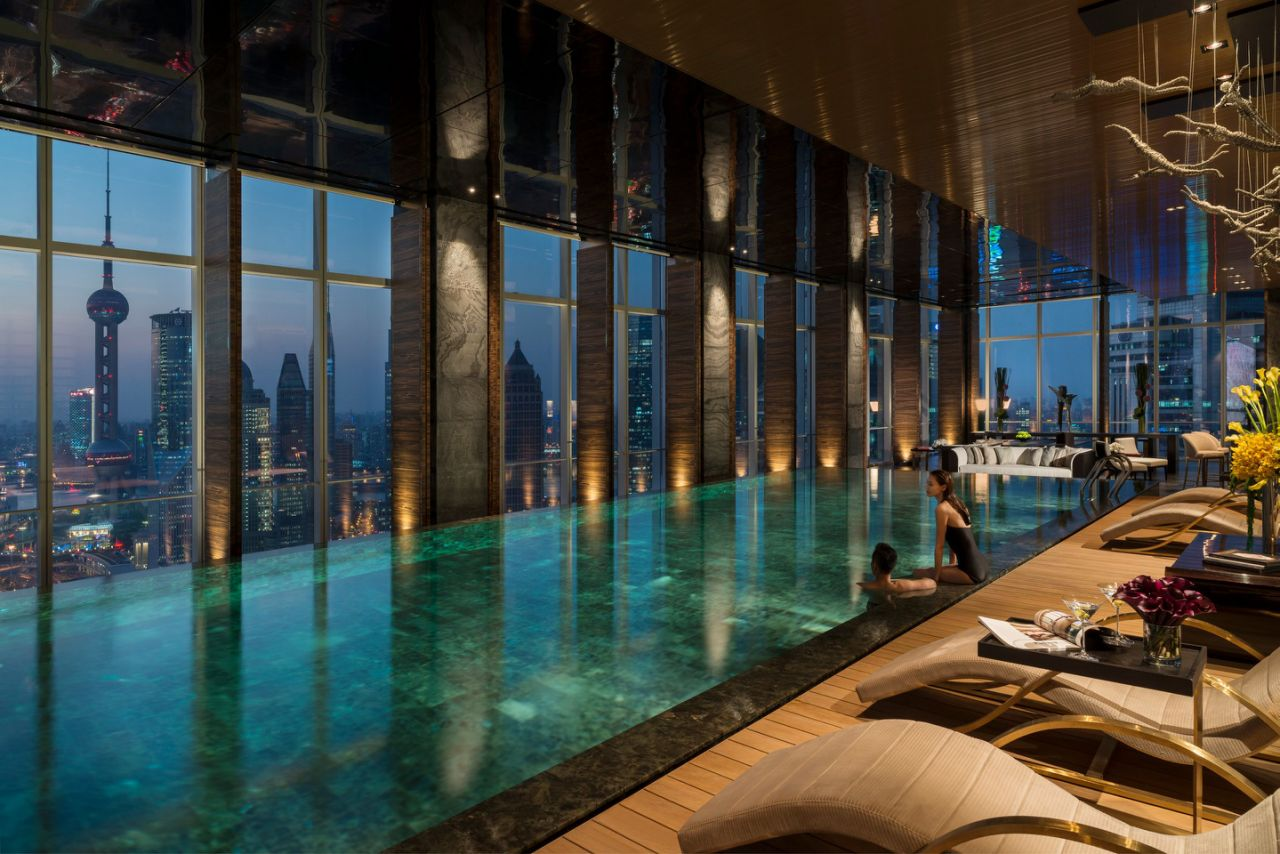 indoor swimming pools if youu0027re visiting shanghai, a trip to the u003cstrongu003efour seasons UINAYYP