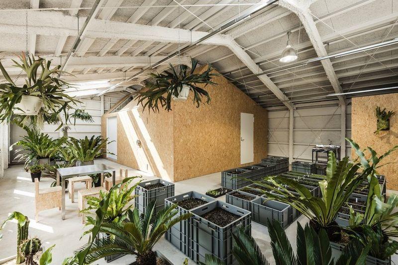 industrial indoor gardens KDDNSOL