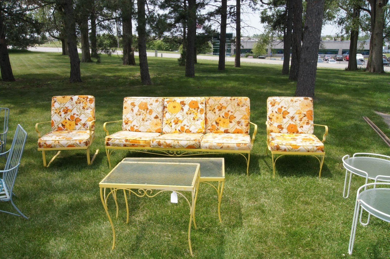 innovative vintage patio furniture house decorating suggestion vintage