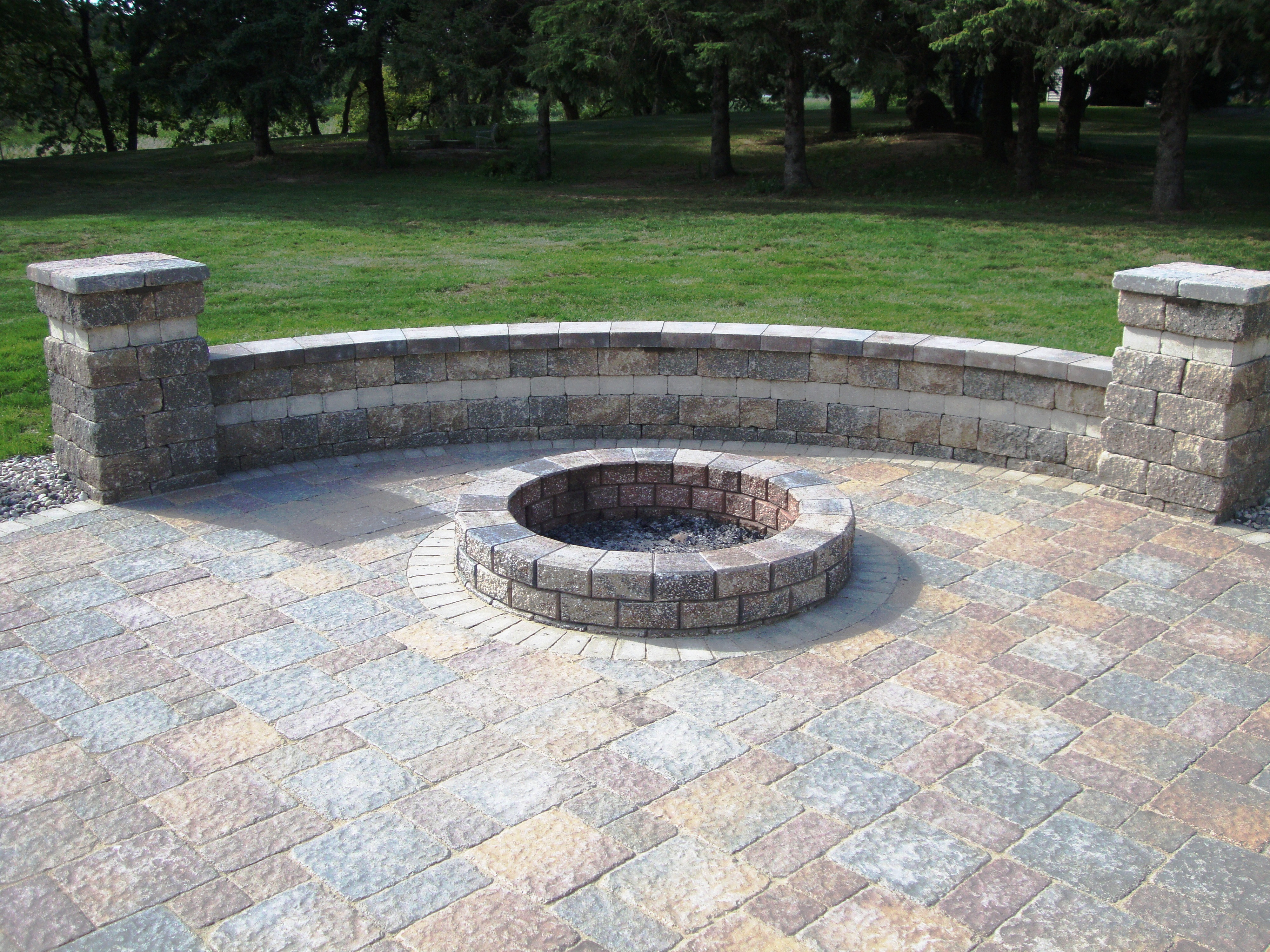 installing patio pavers in fall is healthier in